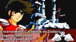 Encerramento - Cavaleiros do Zodiaco - Eterno Azul (Blue Forever) Remasterizado em HD
