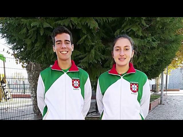 Karaté - Participação FCA nos Campeonatos da Europa