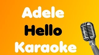 Adele - Hello - Karaoke