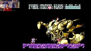Ninja Gaiden 3 (NES) - Full Playthrough with Mike Matei