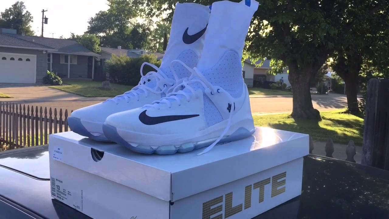 f56d2cde8f2 Nike KD 8 Elite - Video Review   On Feet - YouTube
