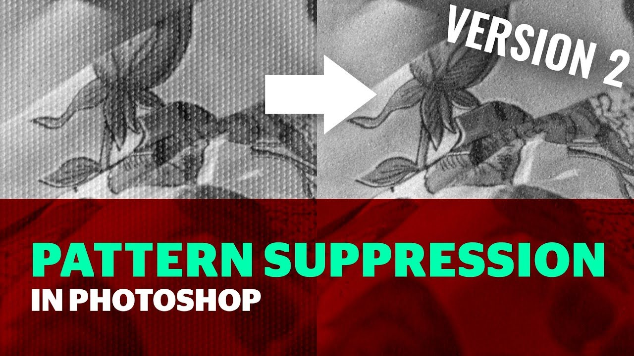 Pattern Suppressor for Photoshop