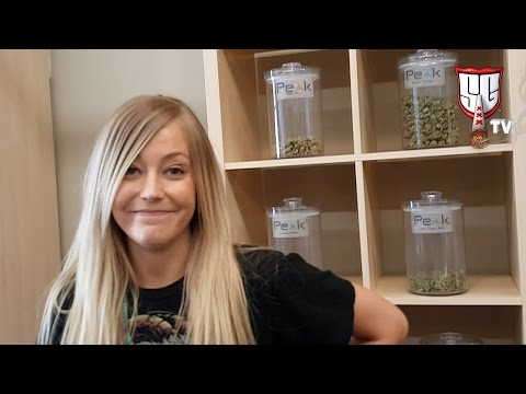 Peak Cannabis Dispensary Tour Denver - Recreational & Medical Marijuana - Smokers Guide TV Colorado