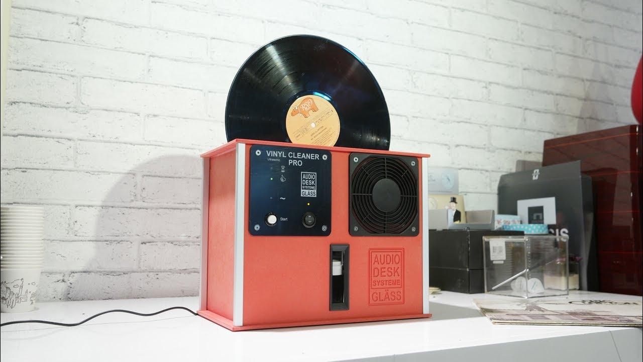 Audiodesk Vinyl Cleaner Test 오디오데스크 Lp클리너 작동 시연