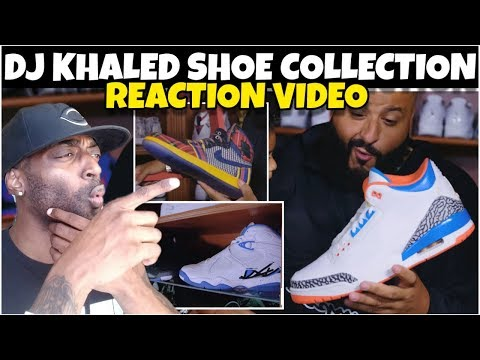 DJ KHALED INSANE SNEAKER COLLECTION REACTION VIDEO FROM COMPLEX