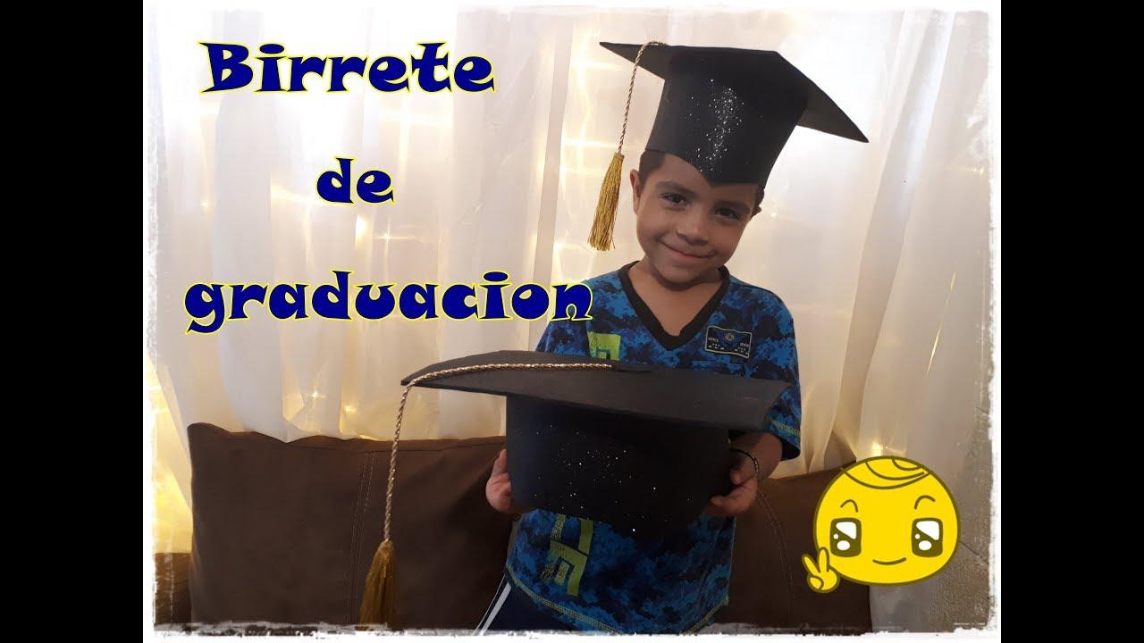 Como Hacer Un Birrete De Graduacion En Foami
