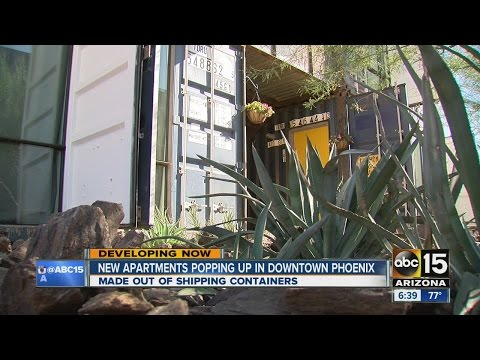 New apartments popping up in downtown Phoenix