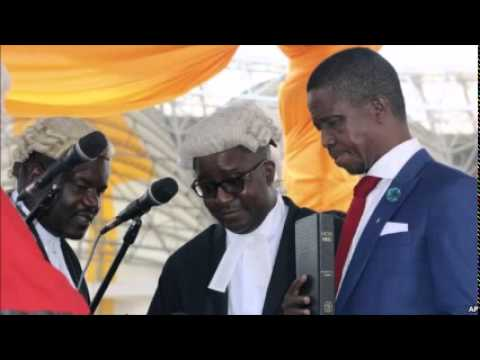 Zambia's New President Sworn Into Office