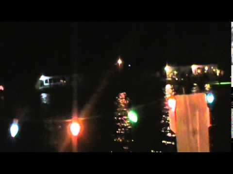 2014 CHRISTMAS BOAT PARADE AT KRAZY45CAT'S  CRIB