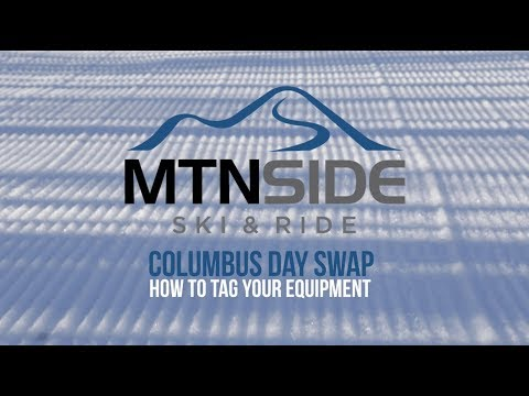 MTNSide Ski & Ride Columbus Day Swap - How To Sell Your Equipment