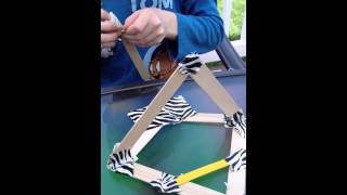 How To Make A Catapult With Basic Household Supplies.