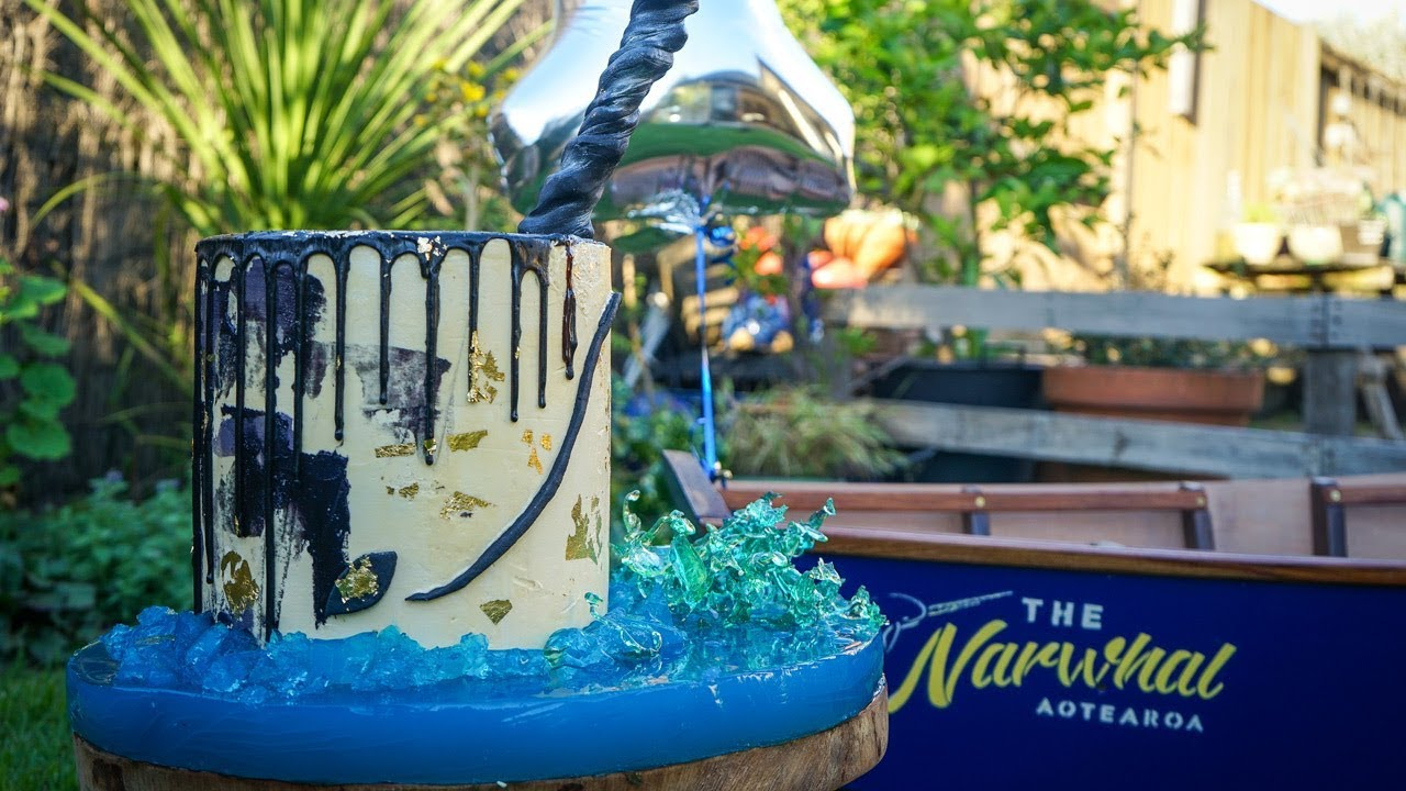 Narwhal Cake Dylans 1st Birthday Cake Just Has Cakery Youtube
