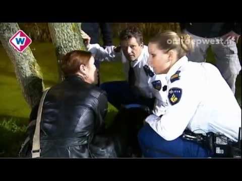 In het blauw (bij de politie)
