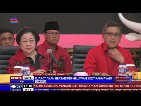 PDIP Jagokan Djarot Maju Di Pilgub Sumut