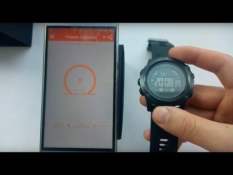 Приложение H Mate и смарт часы Spovan PR1-2 Smart Watch обзор, настройка, инструкция, отзывы