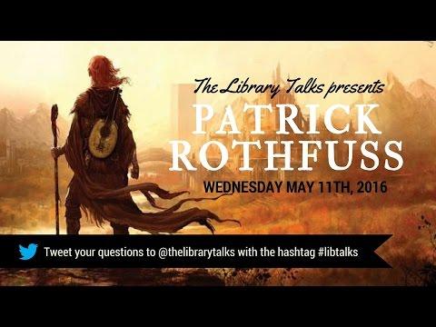 Guest: Patrick Rothfuss