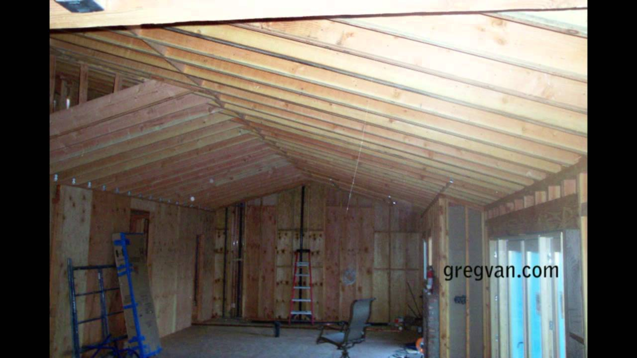 Long Sagging New Double Roof Rafters Structural