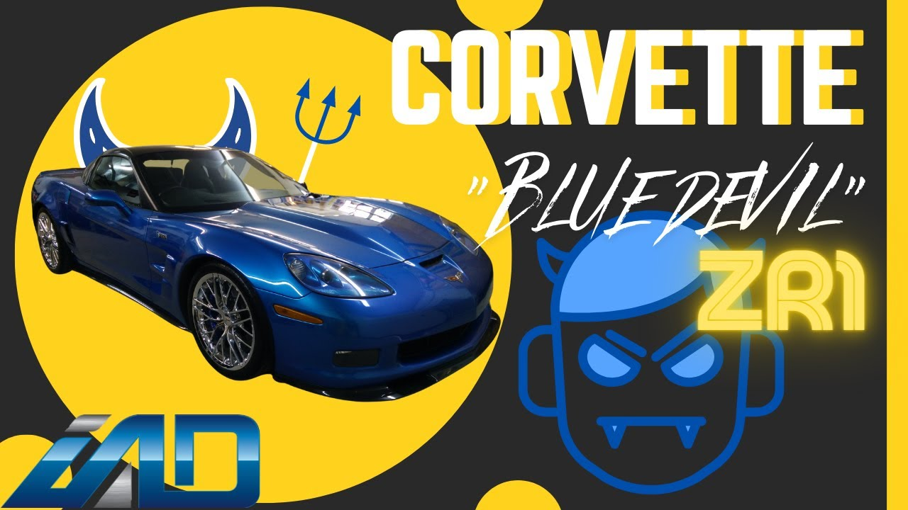 Chevrolet Corvette Zr1 Quot The Blue Devil Quot Car Wash And