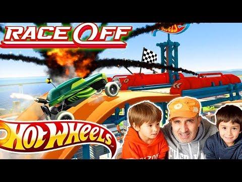 Hot Wheels Race Off Juegos Y Aplicaciones De Autos De Carreras Para