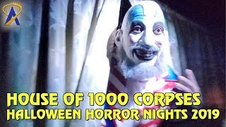House of 1000 Corpses maze at Halloween Horror Nights Hollywood 2019