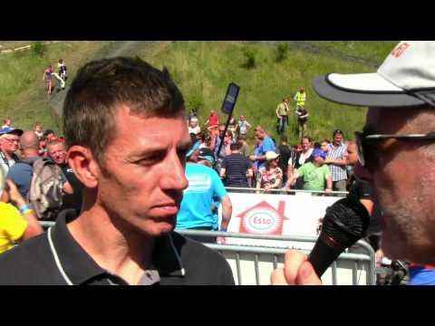 Beringen BK MTB 22 07 2012 Interview   Filip Meirhaeghe