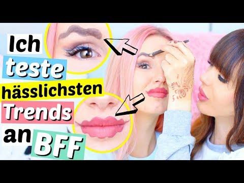 Die hässlichsten Trends an meiner BFF getestet 😏 | ViktoriaSarina
