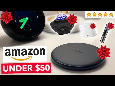 10 Christmas Tech Gifts on Amazon You NEED Under $50