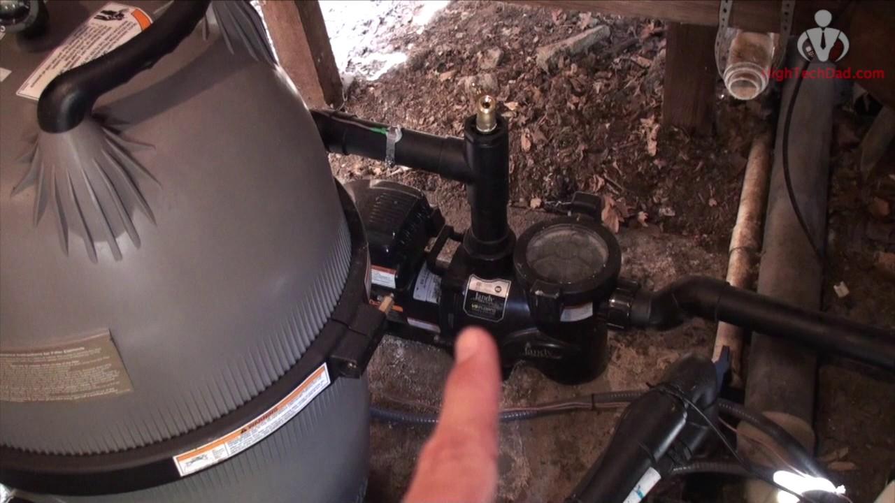 Mini Review Jandy Pro Zodiac Polaris Pool Equipment Walk Through 2017