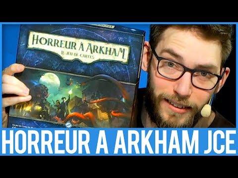 HORREUR A ARKHAM LE JEU DE CARTE - JEU DE SOCIÉTÉ