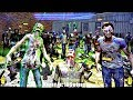The Walking Dead ARCADE 2 Player Game Play New 2017 Game Release: Zombie First Person Shooter