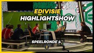 HIGHLIGHTSHOW | SPEELRONDE 4 | eDivisie 2019-2020 FIFA20
