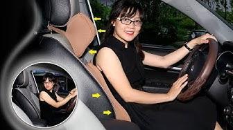Gối và tựa lưng ô tô cao cấp