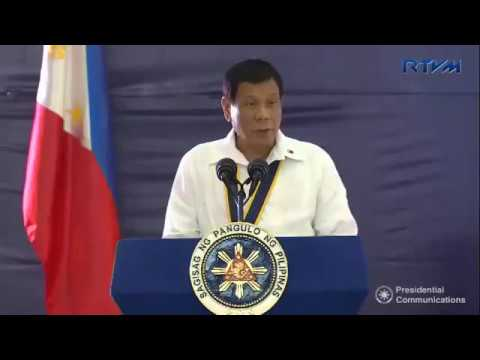 Full Speech of Pres. Duterte at 67th Birthday of the Philippine Marine Corps