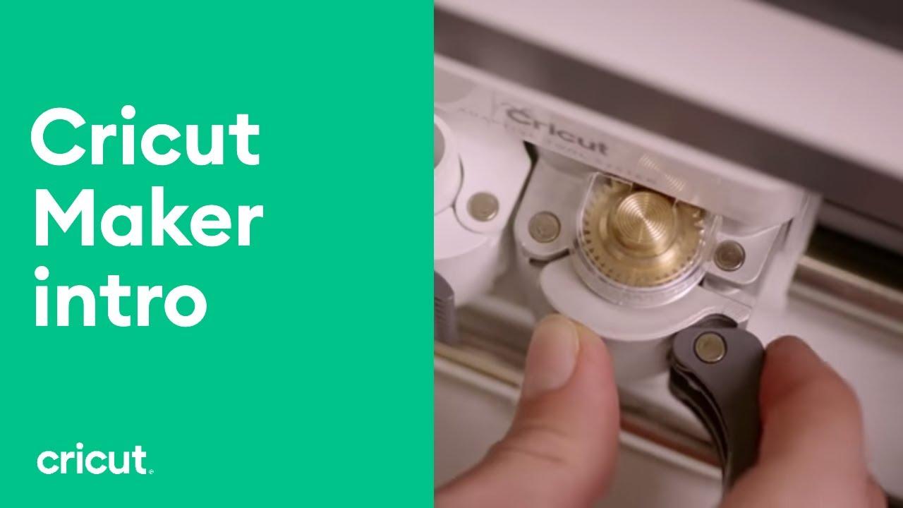 NEW Cricut Maker featuring Scoring Wheel!