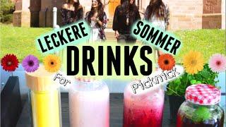 Leckere Sommer DRINKS für ein Picknick!