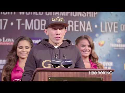 HBO Boxing News: Canelo-Golovkin Press Conference Recap (HBO Boxing)