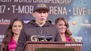 HBO Boxing News: Canelo-Golovkin Press Conference Recap (HBO Boxing)
