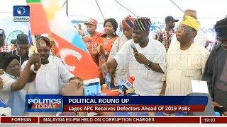 Lagos APC Receives Defectors Ahead of 2019 Polls |Politics Today|