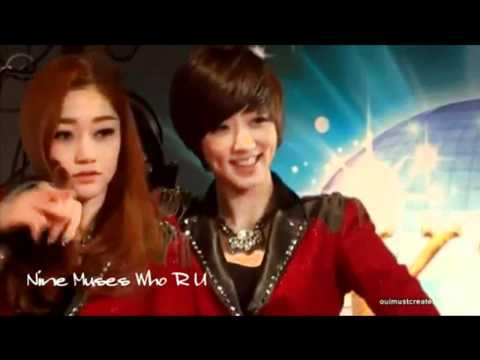 나인 뮤지스 Nine Muses  Sera Eunji Couple (SeJi)_(Already Miss You)