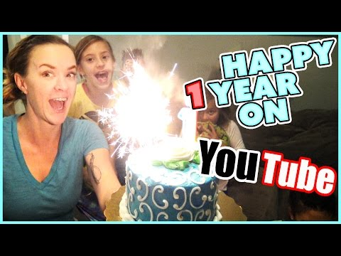 🎉🎉CELEBRATING ONE YEAR ON YOUTUBE🎉🎉 COME AND PARTY WITH US!! | SMELLY BELLY TV