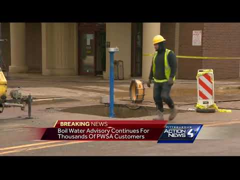 Boil water advisory continues after large water main break in Shadyside