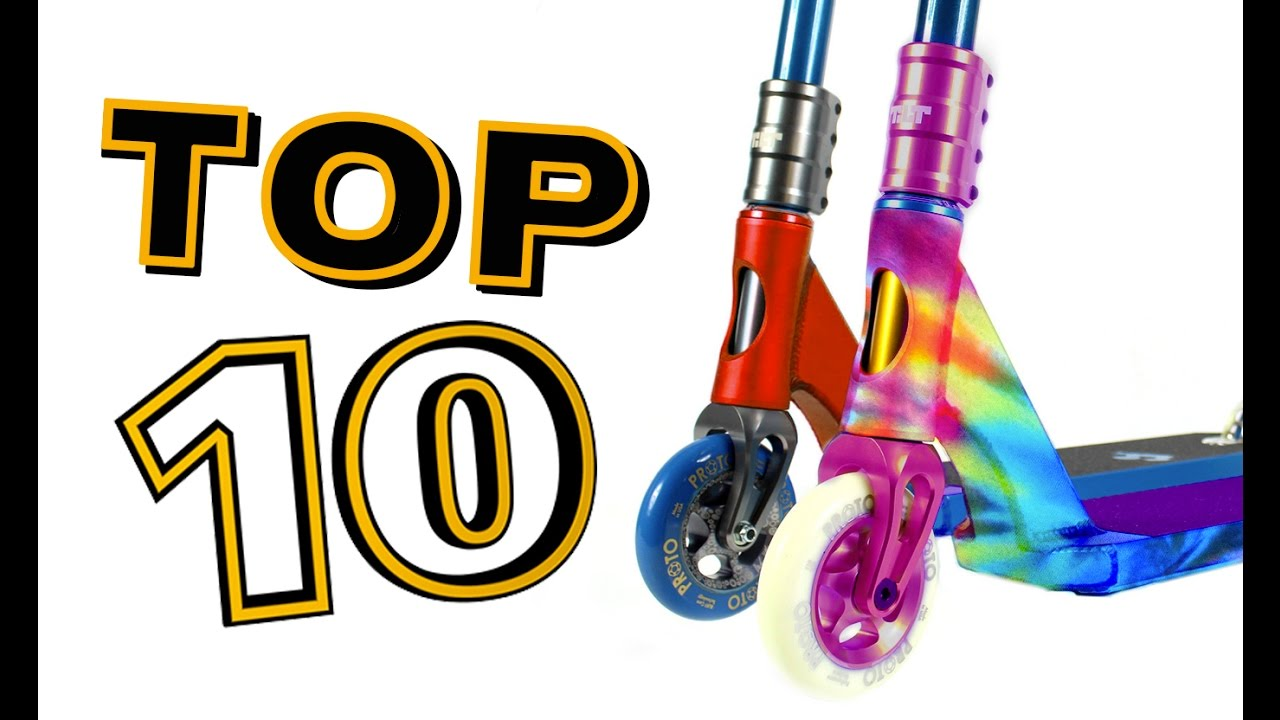 Top 10 best pro scooter completes part 2 youtube for Top recambios profesional