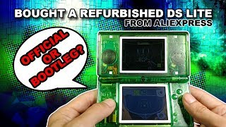 Refurbished Nintendo DS Lite from Aliexpress 2019: Aliexpress Unboxing NDS | We Deem