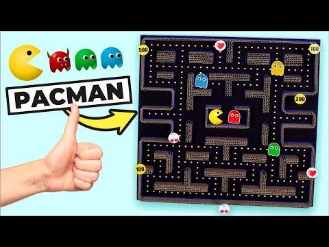 Juguemos al PAC-MAN de cartn
