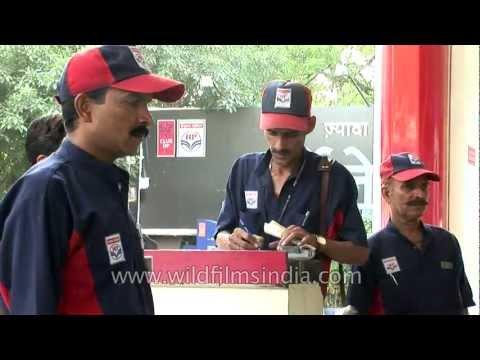 Hindustan Petroleum petrol pump in India