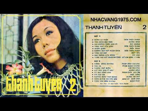 Thanh Tuyền – Tựa Cánh Bèo Trôi – Thu Âm Trước 1975