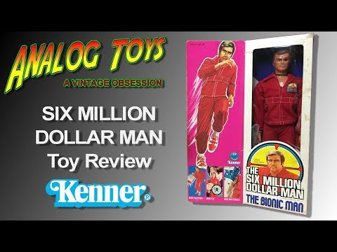 Six Million Dollar Man Vintage Toy Review Part 1 Of 3 - Kenner Bionic Man Action Figure