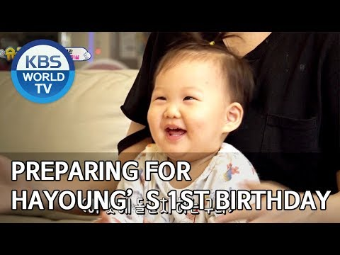 Preparing for Hayoung's 1ST Birthday [The Return of Superman/2019.12.15]