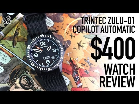 How Trintec So Nearly Made The Best Automatic Aviation Watch Under $400 - Zulu-01 Co-Pilot Review
