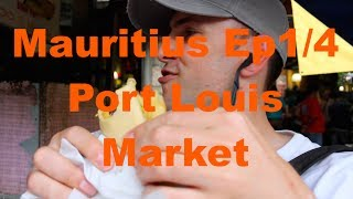 Mauritius Port Louis Central Market Food